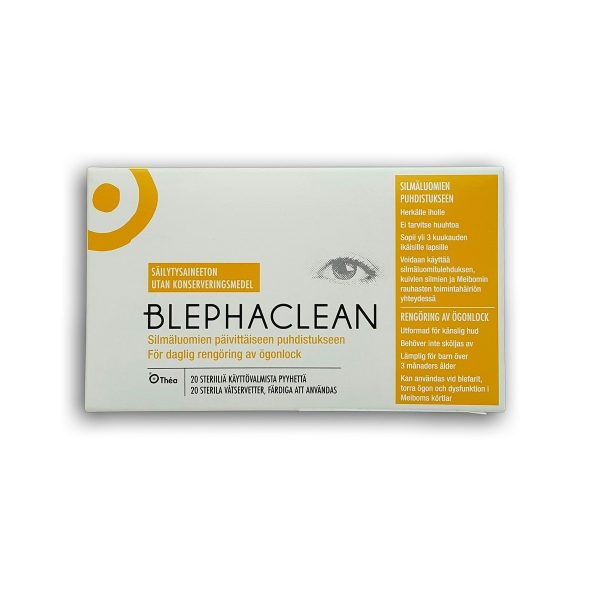 Blephaclean silmapuhastuslapid